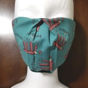 Phlebotomy Cotton 2 Layer Facemask